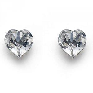 Náušnice s krištáľmi Swarovski Oliver Weber Heart Crystal ca17e1c455b