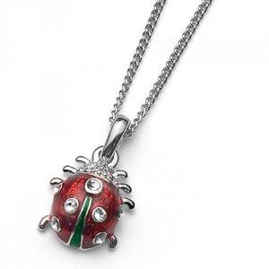 Prívesok s krištáľmi Swarovski Oliver Weber Ladybug Mini add302443ec