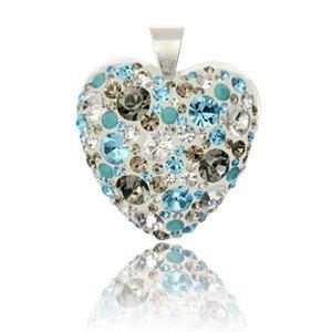 03ee767c0 Swarovski Strieborný prívesok s krištáľmi Swarovski Aquarius Diamond ...