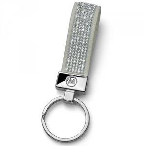Prívesok na kľúče s krištáľmi Swarovski Oliver Weber Alcantara Grey  57141GR-001 79d7edefd37