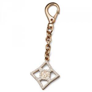 Prívesok na kľúče s krištáľmi Swarovski Oliver Weber OW Gold 57140G e61b69f90ac