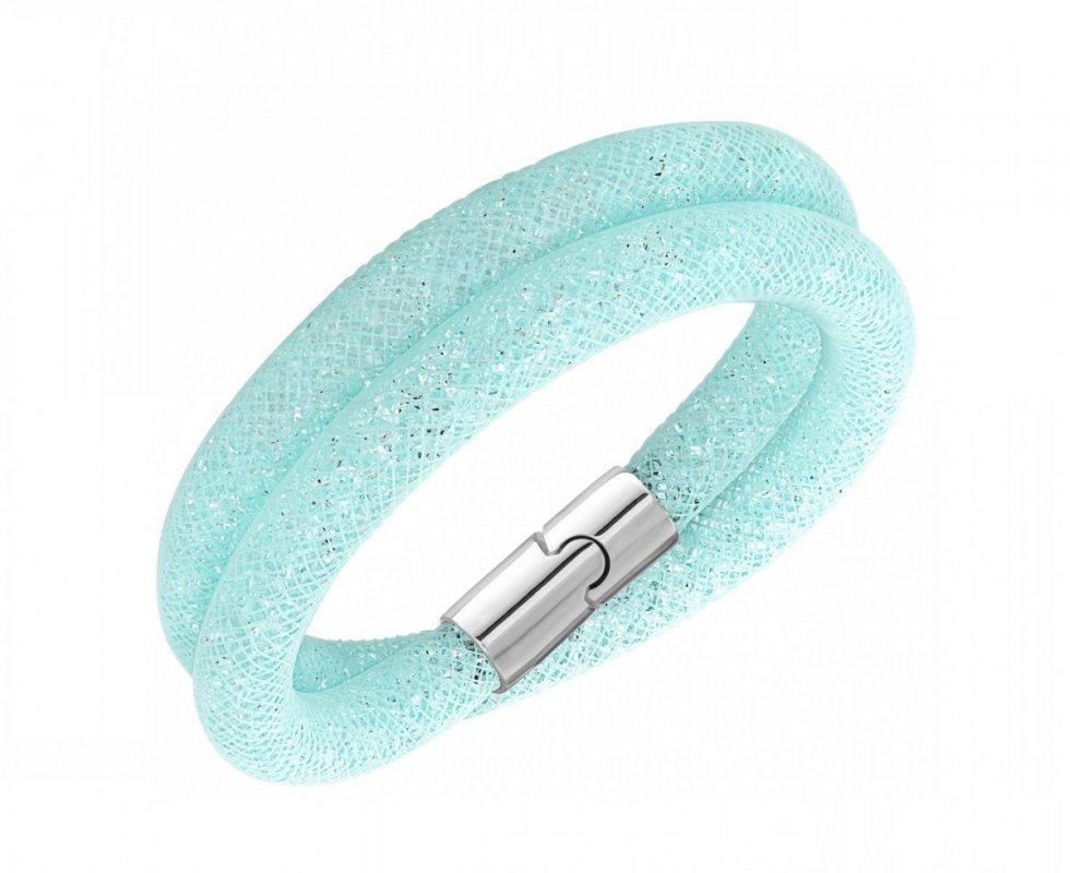 Swarovski Swarovski náramok STARDUST LIGHT BLUE - nylon 94810c9f905