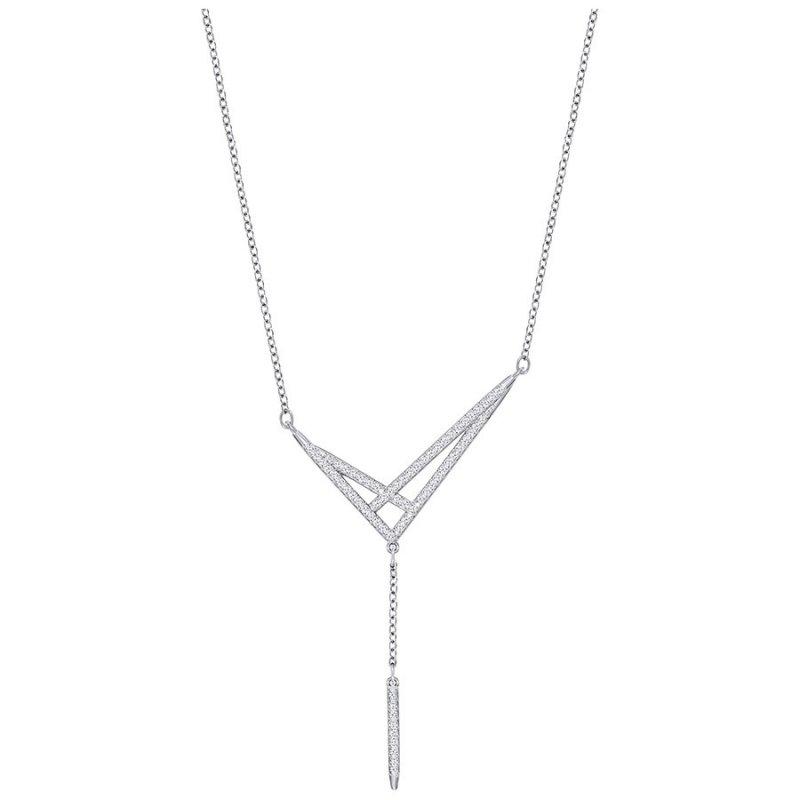 Swarovski Swarovski náhrdelník FINE - rhodiovaný kov f8c040d5330
