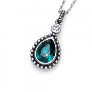 Prívesok s krištáľmi Swarovski Oliver Weber Antique Drop Emerald 6941dcc2037