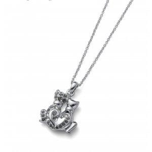 99c834909 Prívesok s krištálmi Swarovski Oliver Weber CatsInLove black diamond ...