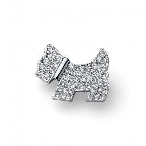 19e6a9a6f Ozdobná brošňa s krištálmi Swarovski Oliver Weber Doggy crystal ...